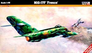 MiG-17-F-NVA-DDR-POLNISCHE-VIETNAMISCHE-MARKIERUNG-1-48-MASTERCRAFT