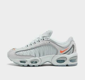 Nike-Air-Max-Tailwind-IV-SE-CT1614-100-White-Orange-Ice-Men-039-s-Sportswear-Shoes