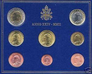 BU-VATICAN-2002-8-pieces-3-88-EURO-Vatikan-Vaticano-Watykan-Vaticaan