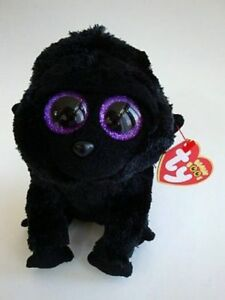 Ty Beanie Boo Boos George the Black Gorilla 6