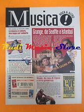 rivista MUSICA! REPUBBLICA 62/1996 Jeff Ament Three Fish V. de Moares No*cd