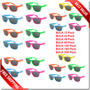 SUNGLASSES-CLASSIC-RETRO-COLORFUL-STYLE-NEW-BULK-WHOLESALE-LOT-PARTY-GLASSES