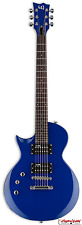 ESP LTD EC-10 KIT BLUE Left-handed Electric Guitar (LEC10KITBLUELH) - Nice!