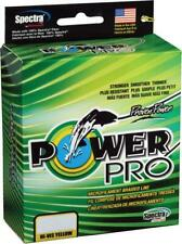 5854 Power Pro Braided Spectra Ligne 15lb by 150yds Yellow