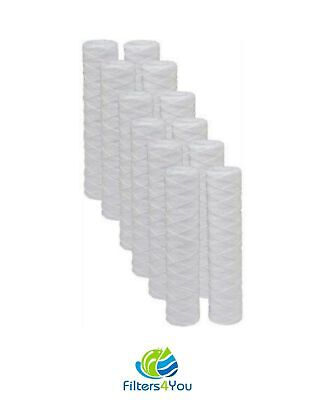 2-Pack Watts Premier 500181 Compatible 5-Micron String Wound Sediment Replacement Filter