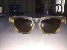Donna Karan Vintage Sunglasses BL B15 Brown Ray Ban Glass Frost Crystal K0051