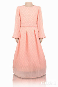 Ages 11-12 years old 5-6 Modest Dress// Abaya// Jilbab//// 7-8 9-10