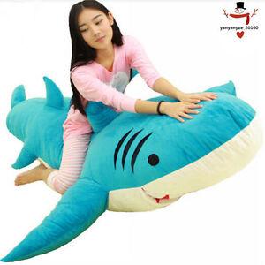 Giant Shark Sleeping Bag giant huge big shark sleeping bag beanbag sofa bed plush stuffed