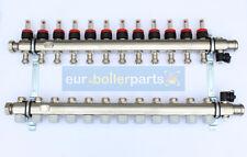 Riscaldamento a pavimento 12 uscite 16mm acciaio inox alta qualità tubo di distribuzione