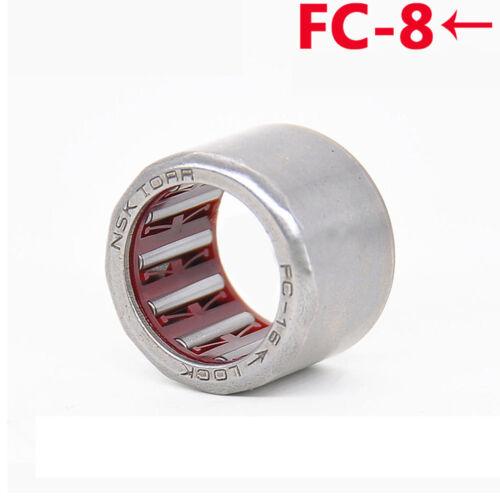 1Pcs FC-8 One Way Aiguille Roulement à rouleaux HF081412 clutch bearing 8x14x12mm