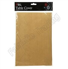 Gold Table Cloth Cover Flannel Backed Dining Table Wipe Clean Xmas Decoration