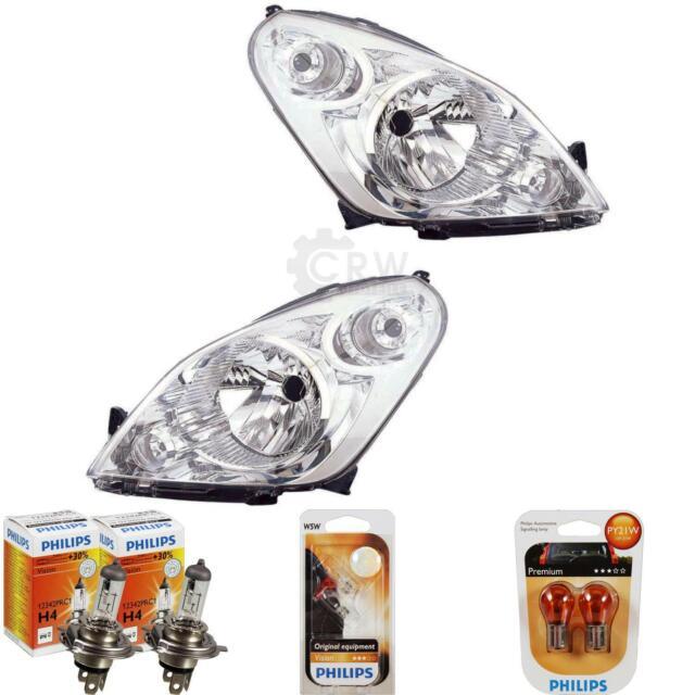 Set Faros Suzuki, Salpicadura Año Fab. 08- >> Valeo H4 Incl. Philips Lámparas