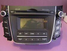 RADIO HYUNDAI I30,CD,MP3,BLUETOOTH,I30 GD (2012-ACTUALIDAD) ORIGINAL OM