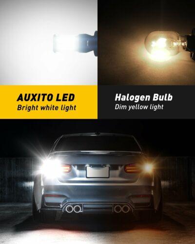 2Pcs Canbus 921 912 906 T15 LED Back up Bulb Light 6000K High power Error Free
