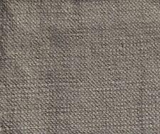 "VILLA NOVA ""GENEVA"" ASH 2.5 metres plain washable upholstery curtain fabric"