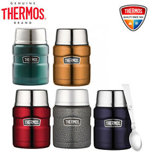 NEW Thermos Stainless King S/Steel Vacuum Insulated Food Jar 470ml