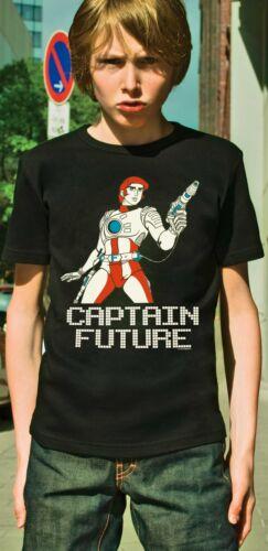 LOGOSHIRT-Wizard of Science-eroe-capitano future Bambini T-Shirt-nero