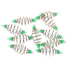 5 Stück Frühling Spule Inline Methode Feeder Angler Feeder Köder Werfer