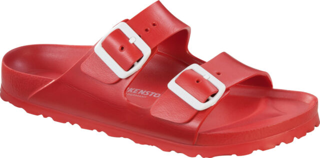 bfcb77ba4f5 Birkenstock Arizona Eva Narrow Womens Red Synthetic Sandals 41 EU