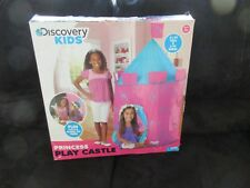 Discovery Kids Indoor and Outdoor Princess Play Castle kids Playhouse tent NIB & Discovery Kids Cardboard Play Castle Color Me Playhouse Tent 7 | eBay