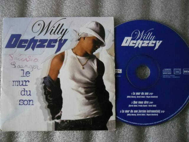 CD-WILLY DENZEY-LE MUR DU SON-QUE VOUS DIRE_SARAH SEBAI-(CD SINGLE)2003-3TRACK