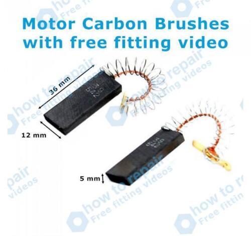BOSCH Motor Carbon Brushes WAE24164GB//05 WAE24164GB//30 WAE2416E//01 WAE2416E//04