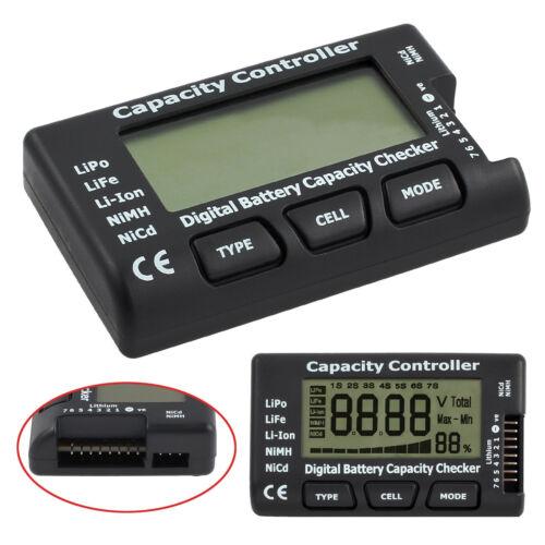 Digital Kapazität Tester Checker für LiPo LiFe Li-ion NiMH Nicd Batterie
