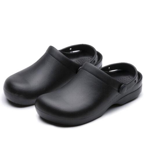 Hommes chef Chaussures Cuisine Antidérapantes Chaussures Chaussures de sécurité huile de l/'eau et même sur la sécurité