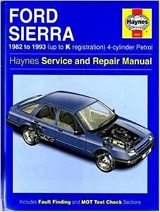 0903-Ford-Sierra-4-cyl-Petrol-1982-1993-Haynes-Service-and-Repair-Manual