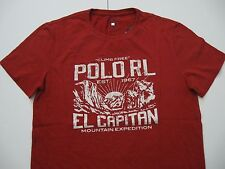 POLO RALPH LAUREN Men's Custom Fit Polo RL Mountain Expedition T-Shirt M