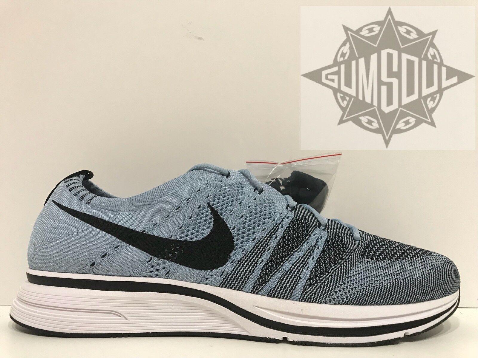 Nike flyknit trainer og cirri bianco nero blu ah8396 400 sz 13