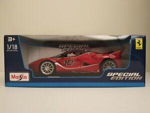Ferrari-Fxx-K-1-18-escala-Diecast-modelo-nuevo-en-caja-de-edicion-especial-de-Maisto