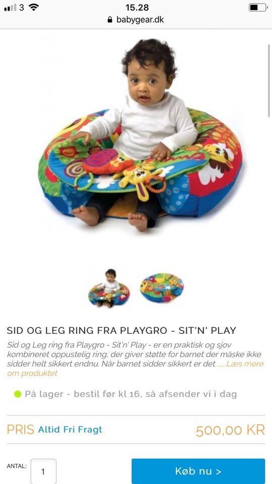 Sidste nye Andet legetøj, Sid og leg ring, – dba.dk – Køb og Salg af Nyt og Brugt ST-38