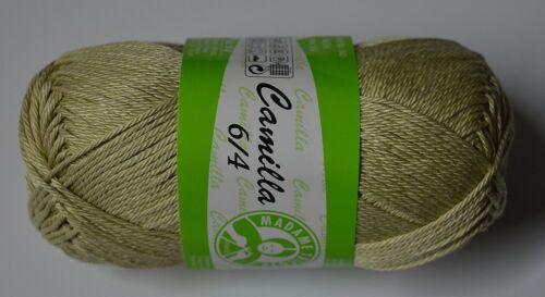 Pareil Bayan Camilla 6//4 100/% cotton coton merceriziert 50g 125m turquie