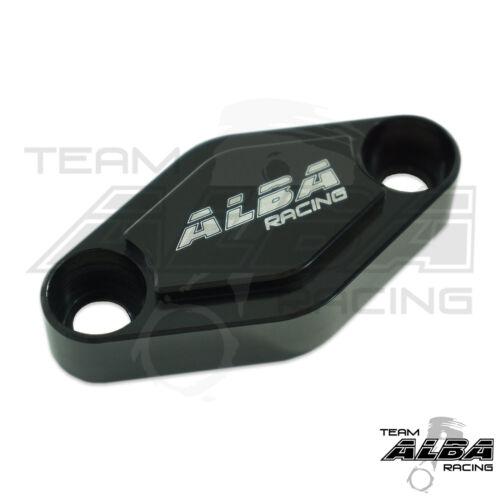 Honda TRX 450R TRX450R  Parking Brake Blockoff Plate  Block off Plate Black