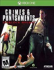 NEW  --  Sherlock Holmes: Crimes & Punishments  --  Microsoft Xbox One * Sealed