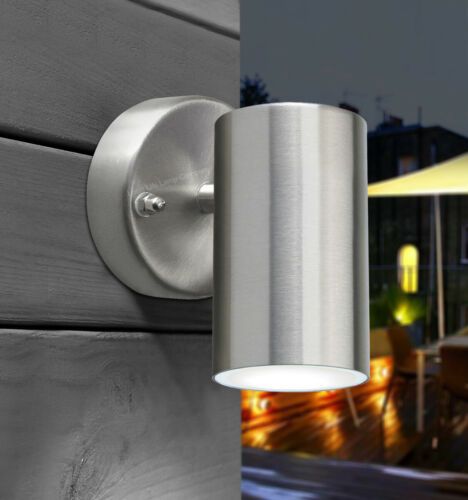 Modern LED 4W Single Wall Light IP44 Outdoor Garden Down Light Cool White ZLC311
