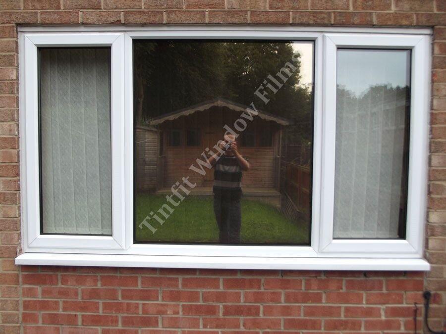 REFLECTIVE Gold 20 50cm x 8m - SOLAR MIRROR ONE WAY WINDOW PRIVACY TINT FILM