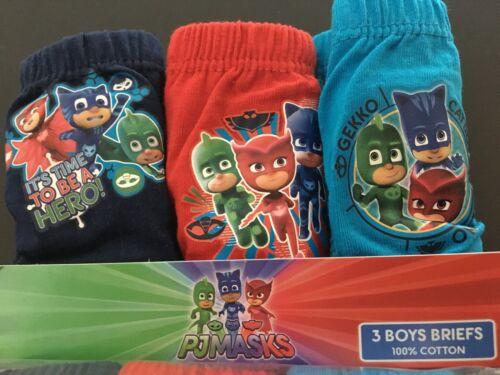 Boys Girls Kids Characters Cars Paw Patrol Trolls Briefs Underwear Pants 2-12Y