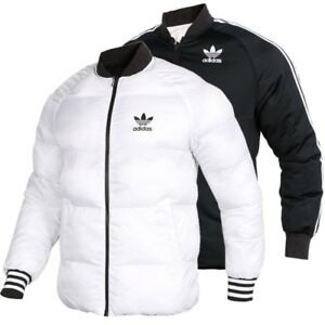 1ace7fa6184d NEW MEN S ADIDAS ORIGINALS REVERSIBLE SUPERSTAR PADDED JACKET ~LARGE ...
