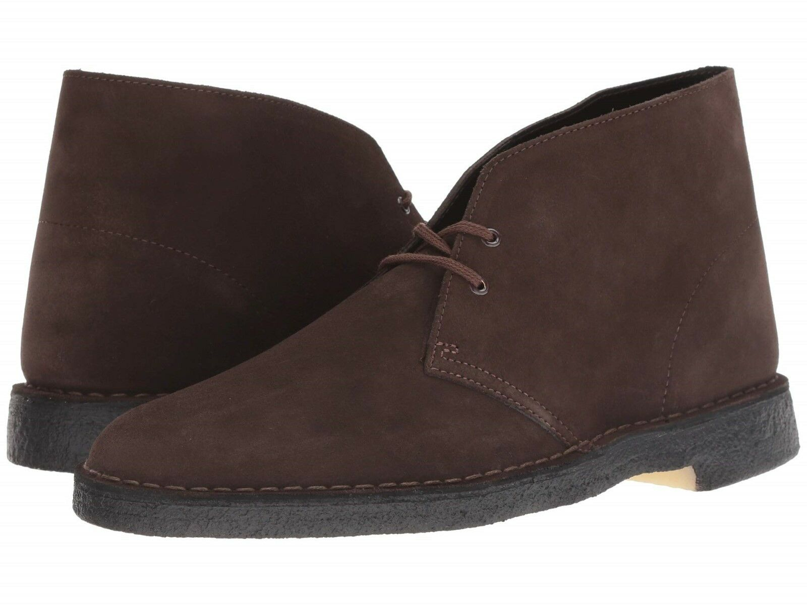 Clarks Mens Original Desert Boot Brown Suede Leather Medium (D, M)