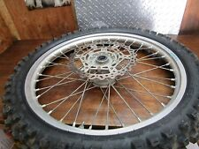 YZ 250F YAMAHA 2009 YZ 250F 2009 FRONT WHEEL