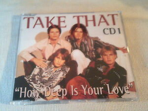 TAKE-THAT-HOW-DEEP-IS-YOUR-LOVE-UK-CD-SINGLE-PART-1