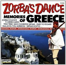 Zorba's Dance-Memories from Greece Orch. Alex. Avramovici, Teodor Muntean.. [CD]