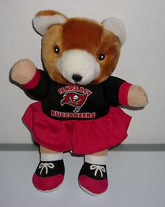 NFL TAMPA BAY BUCCANEERS Bear Cheerleader Football Plush Souvenir FREE SHIPPING