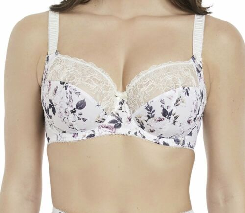 Details about  /Fantasie Charlotte Bra Ivory Size 32DD Underwired Full Cup Side Support 2882 New