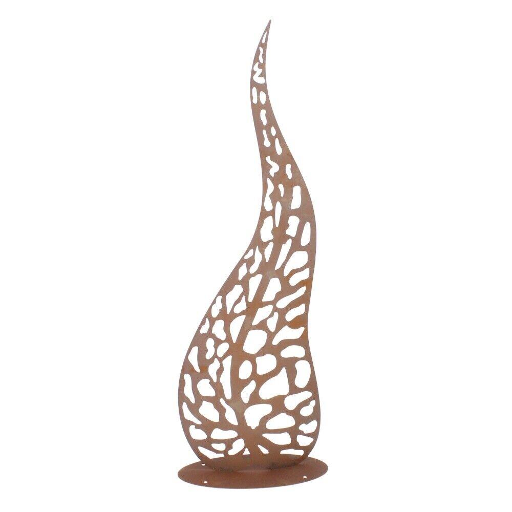 Ferrum Edel óxido escultura hoja