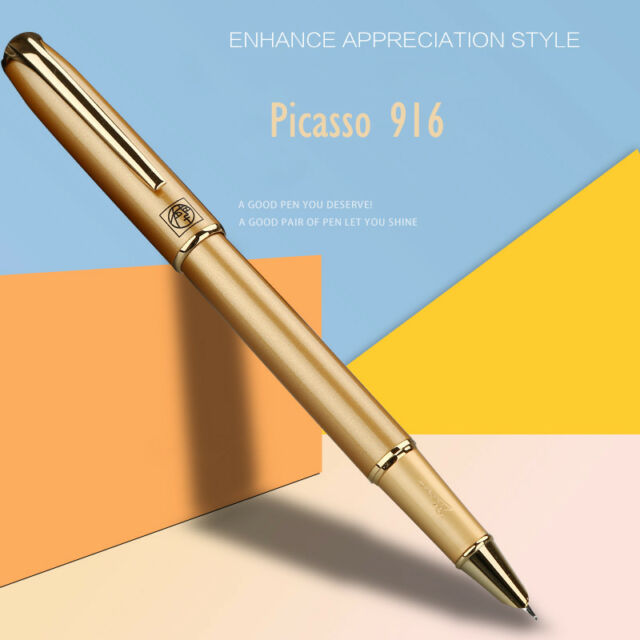 Picasso Elegant Fountain Pen 916 Malage Extra Fine Nib 0.38mm Writing Gift Pen