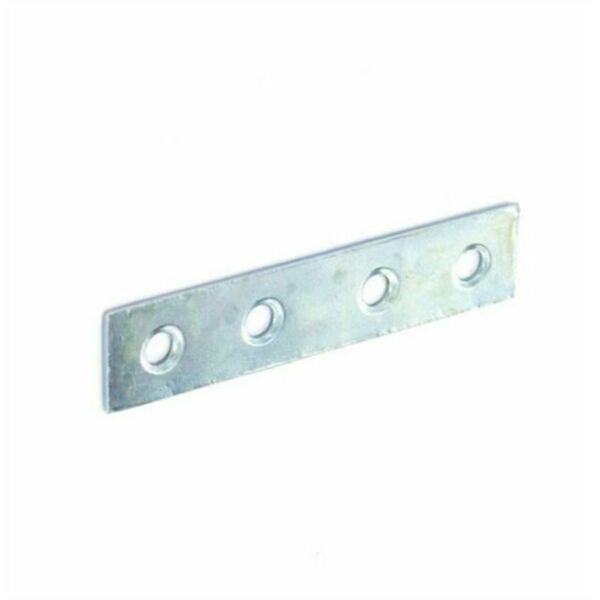 Box of 50 Zinc Plated straight repair plates 75mm
