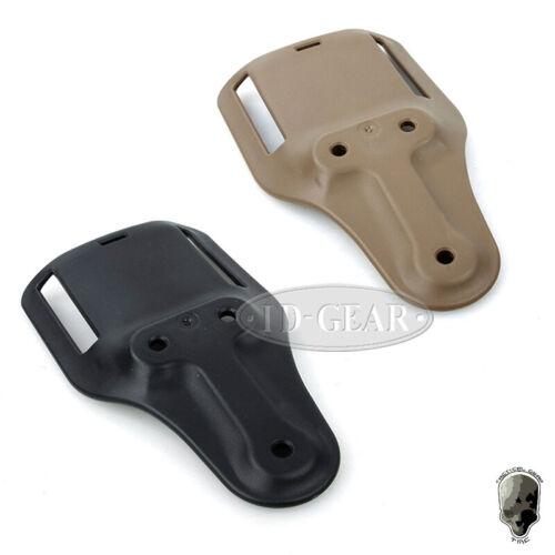 TMC Airsoft Holster Belt Safaril Short Drop Adapter SOG Clip Mount Armee Jagd